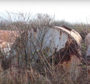 Токсичні захоронення загрожують жителям Рокосова та потрапляють до рычки Тиса (ВІДЕО)