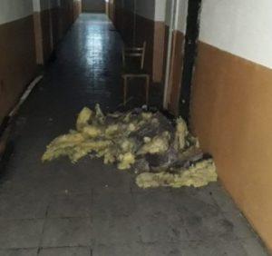 Серед ночі в одному з ужгородських гуртожитків сталася пожежа