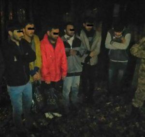 Прикордонники затримали групу нелегальних мігрантів з Афганістану та Бангладеш