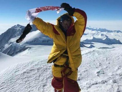 Українка встановила рекорд в альпінізмі