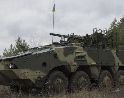 Новый украинский БТР-4МВ1 прошел испытания