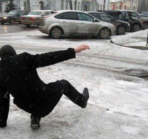Сезон «зимових» травм в Ужгороді (ВІДЕО)