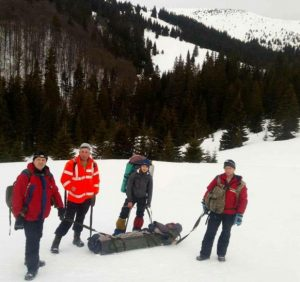 У горах на Рахівщині заблукала і травмувалася туристка (ВІДЕО)