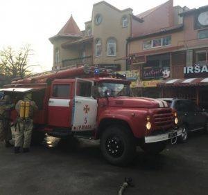 В Іршаві вогнеборці ліквідували пожежу в кафе
