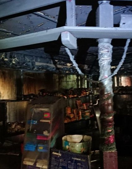 Упродовж доби закарпатські вогнеборці ліквідували дві пожежі у кафе