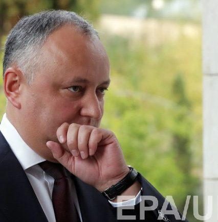 В Молдове Конституционный суд прекратил полномочия Додона