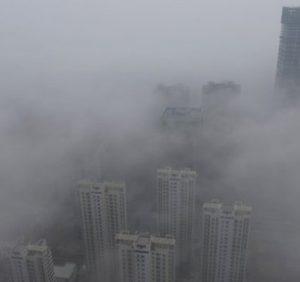 В Китае построили экспериментальную башню-очиститель воздуха высотой 100 метров