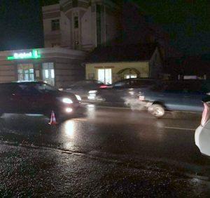 Автоаварія в Ужгороді: постраждав пішохід-порушник