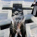 Водохреща: де в Ужгороді дозволено купатися та як це правильно робити (ВІДЕО)