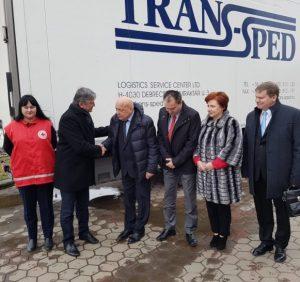 Угорці передали Закарпаттю медичне обладнання для 57 сімейних амбулаторій та фельдшерсько-акушерських пунктів