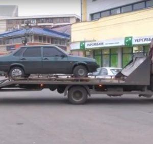 В Ужгороді взялися за автопорушників (ВІДЕО)