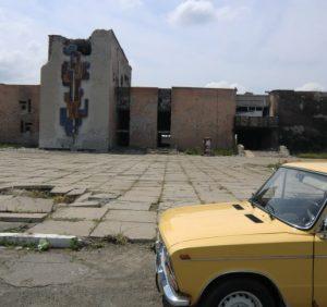 Поліція в Ужгороді розшукала викрадене авто, яке відбирали у власника сепаратисти, росіяни та закарпатці