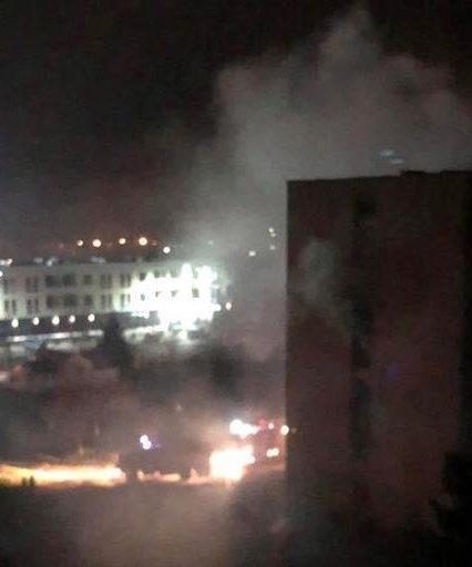 Пожежу в гуртожитку Ужгородського національного університету ліквідовано (ВІДЕО)