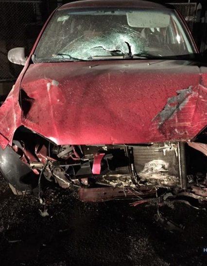 Поліція затримала п'яного водія, котрий насмерть збив пішохода і втік з місця аварії (ФОТО)