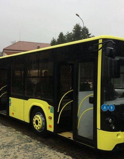 Ужгородська міськрада закупила для міста 10 сучасних пасажирських автобусів