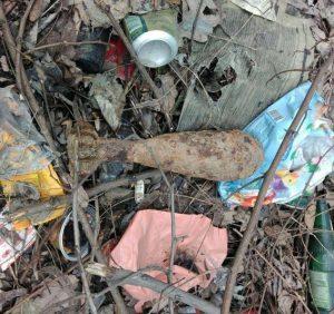 В Ужгороді рятувальники знищили два вибухонебезпечні предмети часів Другої світової війни
