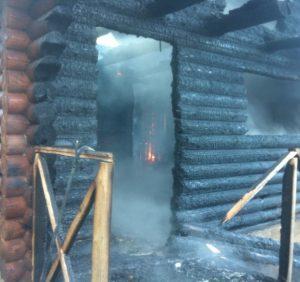 Рятувальники приборкували пожежу у дачному будинку під Ужгородом