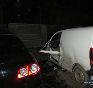 Поліція встановлює обставини ДТП за участі трьох автомобілів на Тячівщині