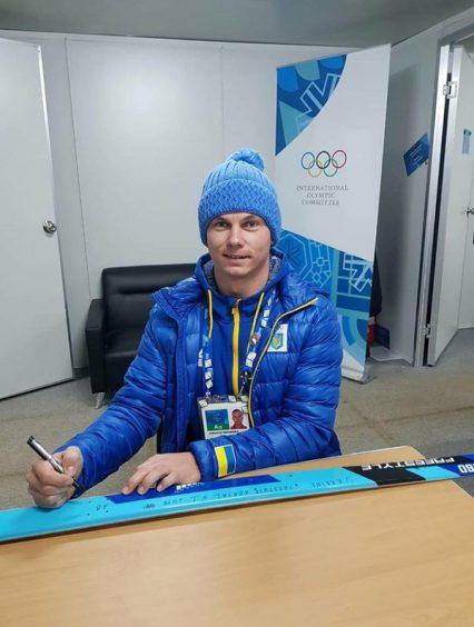 Золотая лыжа Абраменко произведенная в Закарпатье украсила Олимпийский музей