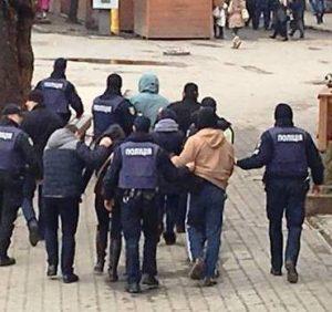 На акції за права жінок затримали всіх правопорушників (ВІДЕО)