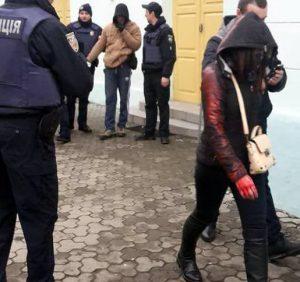 Поліція розслідує обставини хуліганських дій в центрі Ужгорода