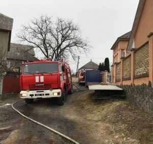 На Свалявщині про пожежу на підприємстві сповістила автоматична пожежна сигналізація