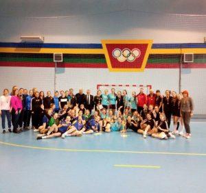 На Срібній Землі відбувся фінальний тур Дитячої ліги з гандболу