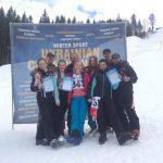 Закарпатські спортсмени вибороли бронзу на Чемпіонаті України з могулу та парного могулу (ФОТО)