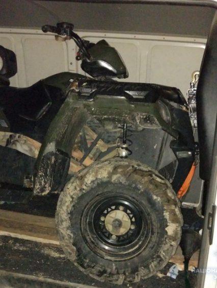 За кілька годин ужгородські поліцейські затримали викрадача квадроцикла