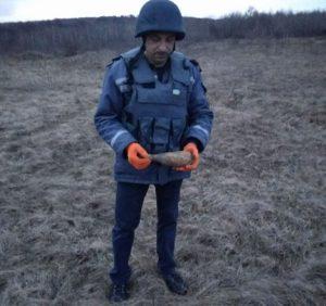 На Ужгородщині піротехніки знищили мінометну міну