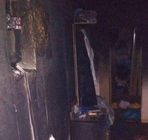 Ужгородські вогнеборці ліквідували пожежу у квартирі