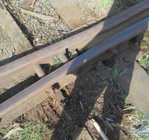На Мукачівщині жінка демонтувала 20 метрів залізничного полотна