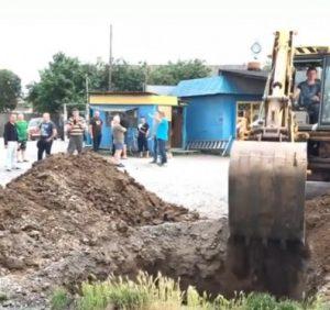 Підприємці відбили чергову рейдерську атаку на ринок Кінчеш під Ужгородом (ВІДЕО)