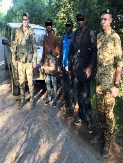 На Закарпатті затримано трьох нелегалів з Африки