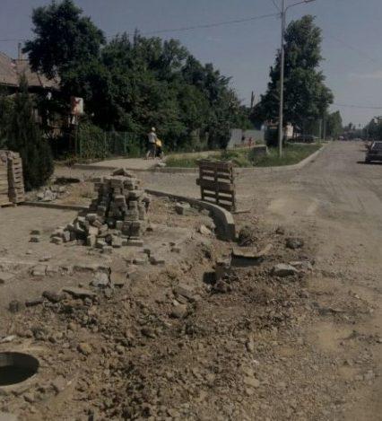 """""""Золотий підрядник"""" Ужгородської мерії ніяк не завершить ремонт вул. Можайського"""