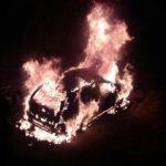 В Ужгороді прокурору спалили автомобіль (фото, відео)