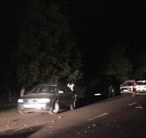 На Берегівщині водій насмерть збив пішохода і втік. Вбивцю розшукують
