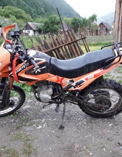 Поліцейські Рахівщини оперативно затримали викрадача мотоциклу