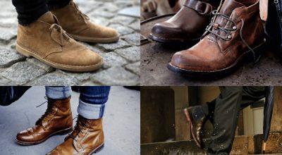 Кожаная мужская обувь от производителя