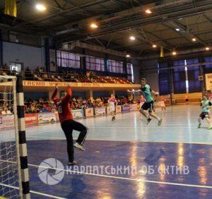 Гандбол: Ужгородські «Карпати» припинили виступи в Кубку України