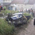 ДТП на трасі Київ-Чоп: автобус зіткнувся з легковиком (ФОТО)