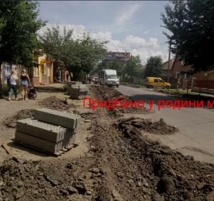 Зловживання посадовців під час ремонтів доріг в Ужгороді стануть об'єктом розслідування правоохоронними органами