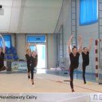 Збірна України з художньої гімнастики до Чемпіонату світу готується на Закарпатті (ВІДЕО)