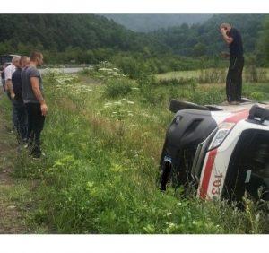 Подробиці ДТП на Свалявщині за участі автомобіля «швидкої» допомоги