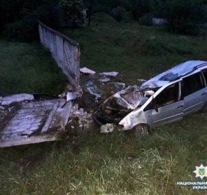 Трагічна ДТП на  Тячівщині: загинуло двоє чоловіків (ФОТО)