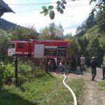 Рахівські вогнеборці ліквідували пожежу у житловому будинку (ФОТО)