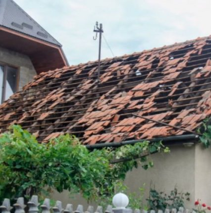 Градобій із буревієм завдали Закарпаттю збитків на понад 60 мільйонів гривень