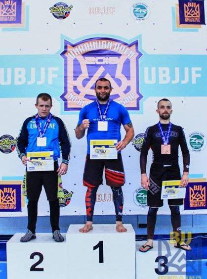 Ужгородець став абсолютним чемпіоном України із джиу-джитсу