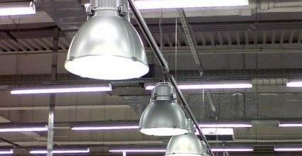 Освещение склада – основные особенности