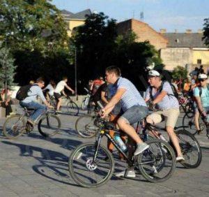"""Післязавтра в Ужгороді відбудеться велозаїзд """"Big City Ride"""""""